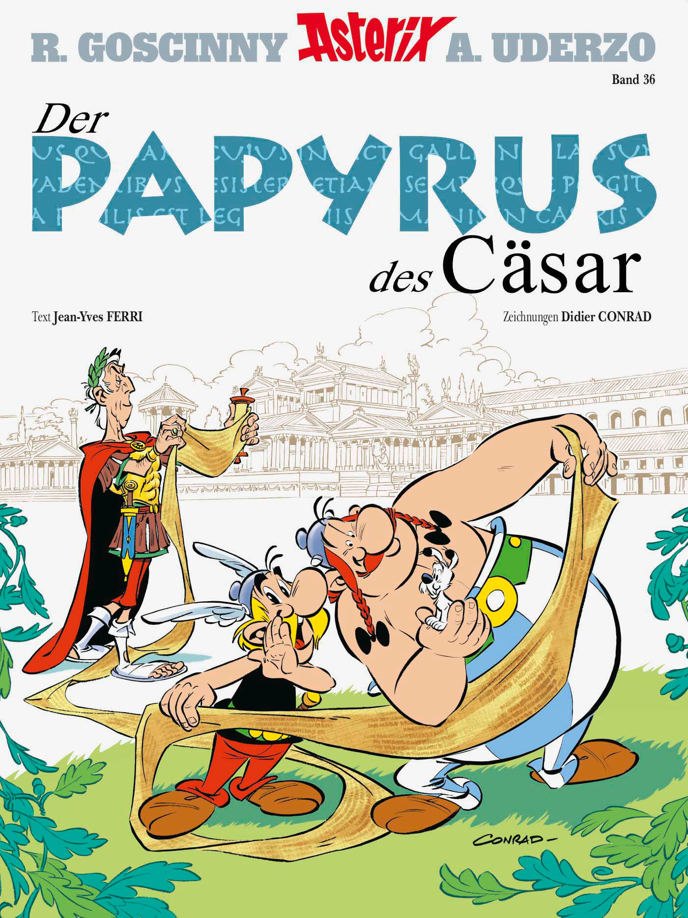 crff171 asterix 36 der papyrus des c sar comic review. Black Bedroom Furniture Sets. Home Design Ideas